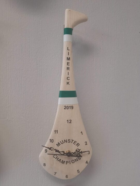 18 inch Limerick Munster Champions Clock